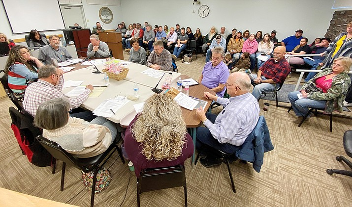 Wednesday, the Camp Verde Town Council considered what it needs, what it wants, and what it can afford to build at the town's sports complex. VVN/Bill Helm