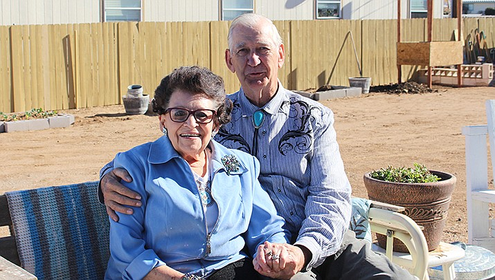Frank and Viola Jones married, divorced and married again. (Photo by Agata Popeda/Kingman Miner)