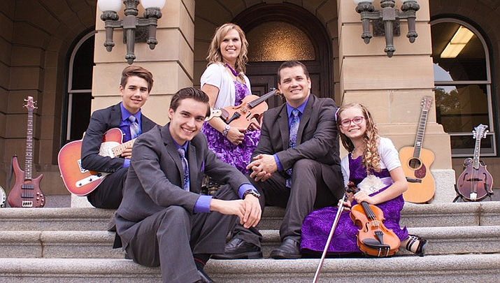 An instrumental and vocal group performance by the Johnson Family Ministries is being hosted at the College Park Church, 1990 Jagerson in Kingman at 6 p.m. on Sunday, Feb. 16. (Johnson Family Ministries)