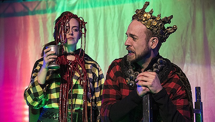 The Utah Shakespeare Festival's Shakespeare in the Schools Tour will make its annual stop at Lee Williams High School on Tuesday, Feb. 18. A public performance is set for 7 p.m. A scene from last year's production of Macbeth is shown above. (Miner file photo)