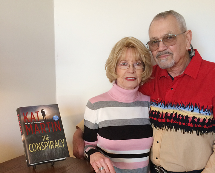 Love story blooms for bestselling authors in Prescott