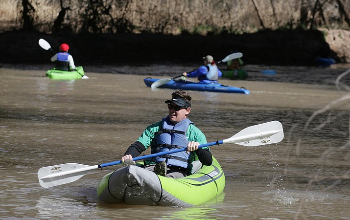 Friends of the Verde River presents the eighth annual Verde River Runoff, Saturday, March 21 in Camp Verde. VVN/Bill Helm