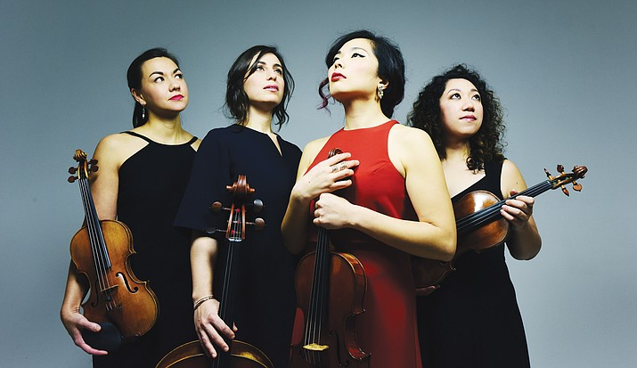 The Aizuri Quartet's debut album, Blueprinting, features new works written exclusively for the Quartet by five of today's most acclaimed American composers, including Lembit Beecher, Yevgeniy Sharlat, Gabriella Smith and Paul Wiancko.