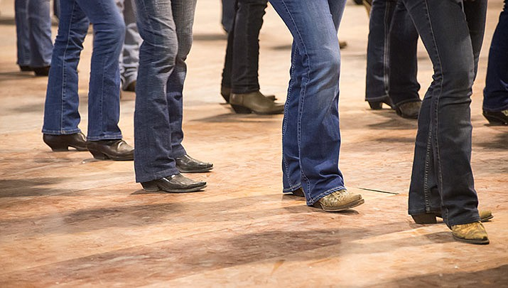 Beginner level line dance classes are offered at Kathryn Heidenreich Adult Center, 1776 Airway Ave. in Kingman every Tuesday from 6 to 7:30 p.m. (Courtesy, file)