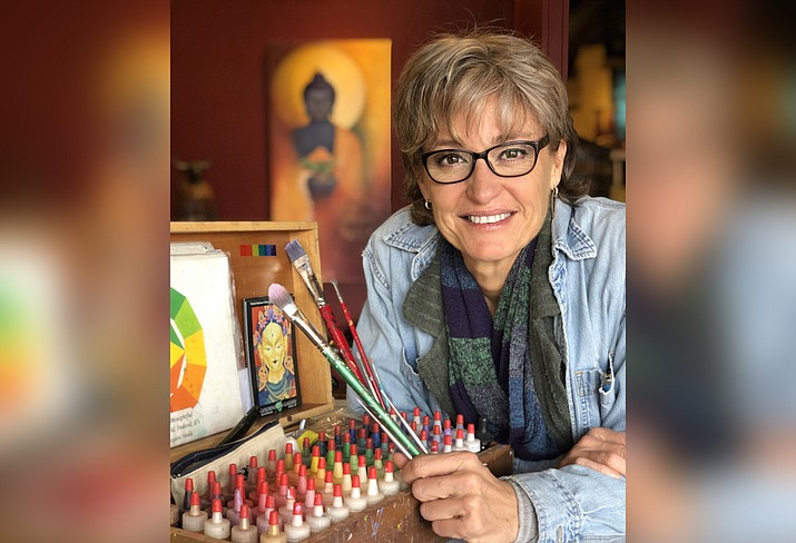 Shey Khandro inspires the hearts and minds of others through her paintings, sculpture and Intentional Jewelry.
