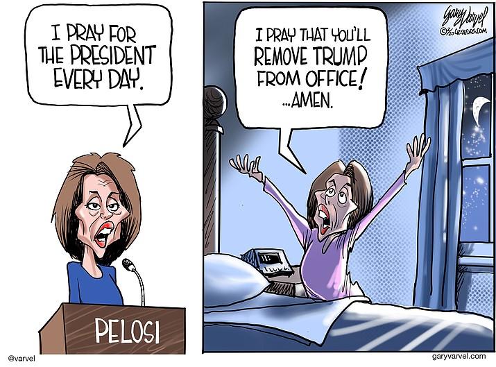 Editorial cartoon (1): Feb. 15, 2020