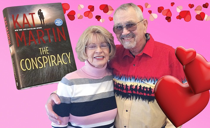 Kat and Larry Martin are prolific writers who have found inspiration in Prescott. (Nanci Hutson/Courier)