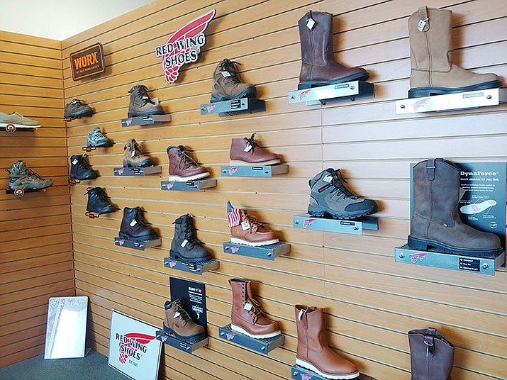 Prescott Boot and Shoe, 120 E. Sheldon St. in the Depot Marketplace, closed its doors for good on Friday, Feb. 14, ownership announced on Facebook.