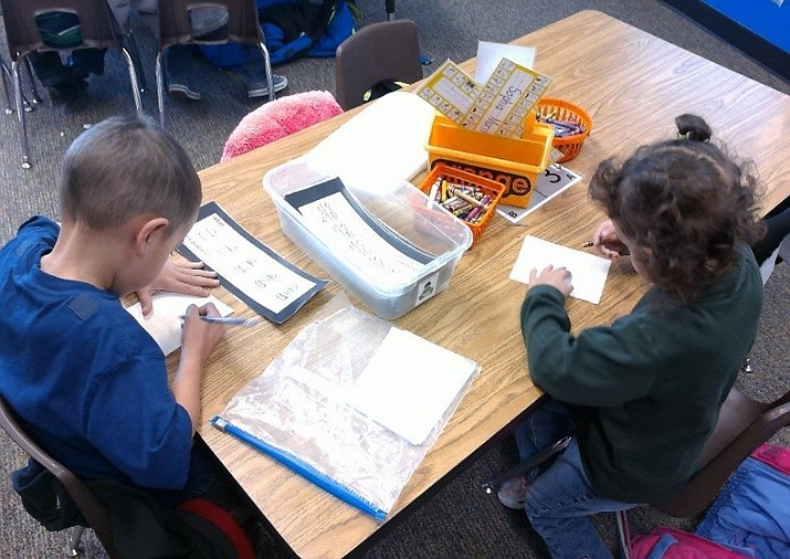 Students are hard at work in the Chino Valley Unified School District. (CVUSD/Courtesy)