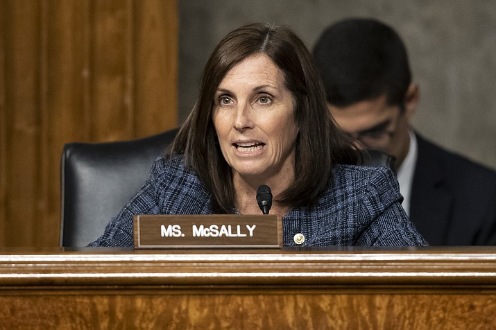 Republican U.S. Sen. Martha McSally, pictured, a former A-10 Thunderbolt II ground-attack jet pilot, and Democratic U.S. Rep. Ann Kirkpatrick both vowed to fight the U.S. Air Force plan to retire 44 of the oldest A-10s beginning later this year.