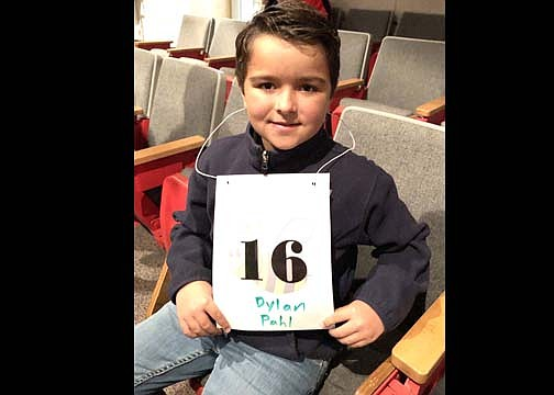 Grand Canyon School 4th grader, Dylan Pahl won 5th place at the Coconino County Spelling Bee. (Photo/Grand Canyon School)
