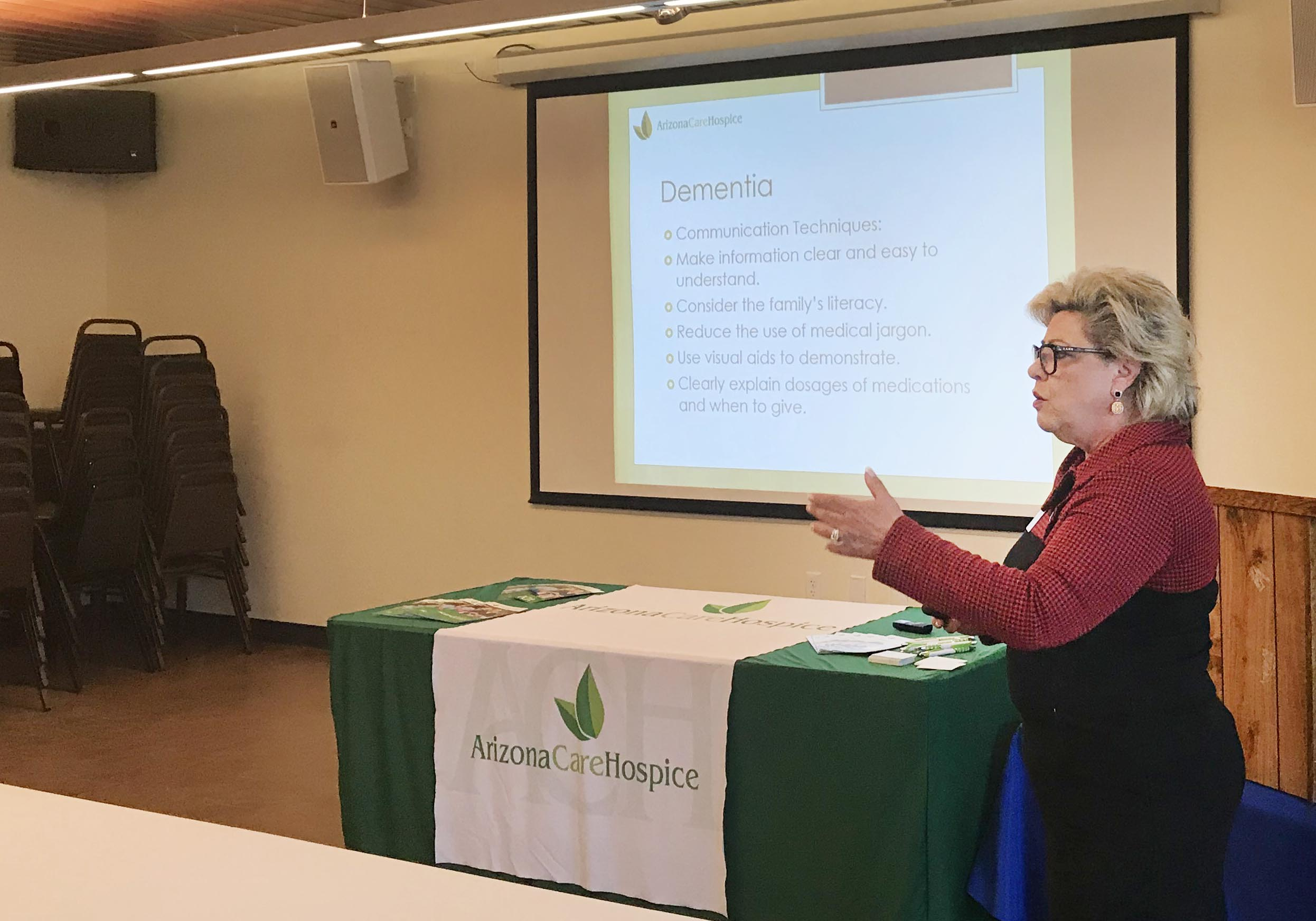 Local program offers helpful tips on caring for dementia patients