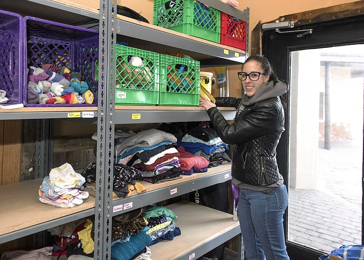 Canyon Closet offers women's, children and young adult clothing for visitors and residents in need in Tusayan and Grand Canyon. (Veronica R. Tierney/WGCN)