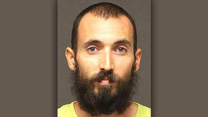 Matthew Phillip Wright pleaded gulity to making terrorist threats. (Mohave County Jail)
