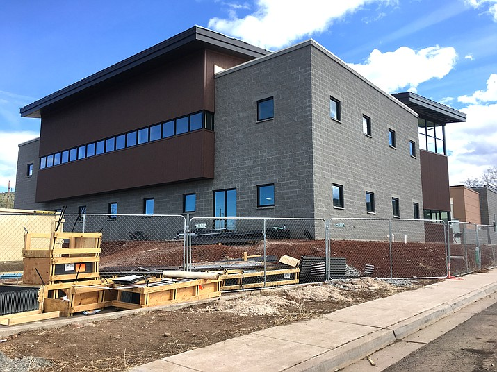 North Country HealthCare in Williams is on track to begin moving into its new facility April 8. (Katherine Locke/WGCN)