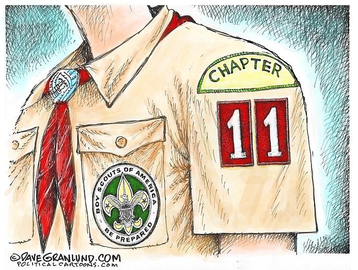 Editorial cartoon (2): Feb. 19, 2020