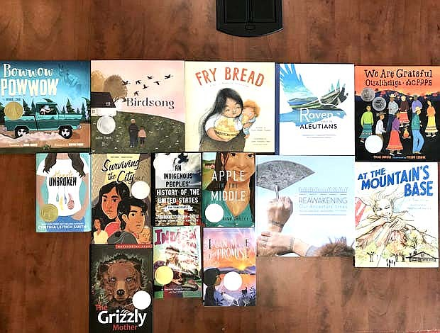 Fourteen books received honors from the American Indian Youth Literature award committee Jan. 27 in Philidelphia, Pennsylvania. (Photo courtesy of Indian Country Today)