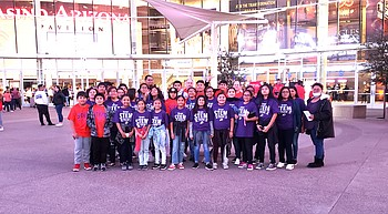 Arizona Suns recognize Jeddito students photo