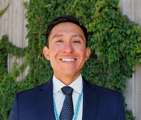 Nicholas Taylor was selected as CEO of Navajo Nation Shopping Centers, Inc. (Submitted photo)