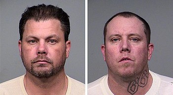 Two men charged with felonies for shoplifting at Walmart photo