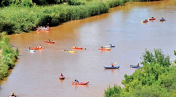 Report card gives Verde River a 'C-plus' grade photo
