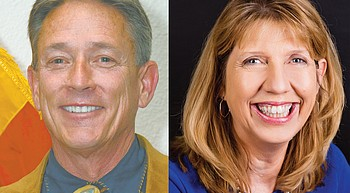 Davis, Pearsall in running to be new county treasurer photo