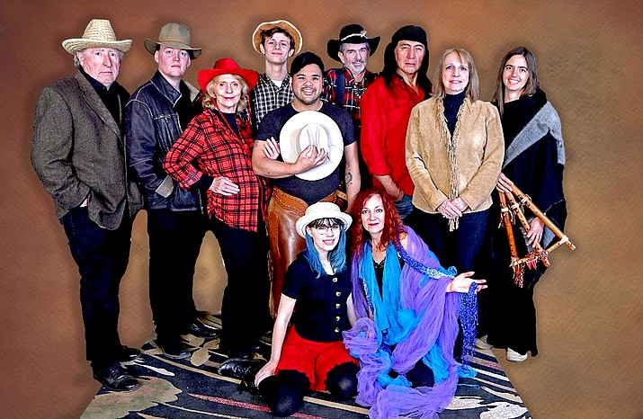 Performers include long time Red Earth favorites Terra Shelman, Joan Westmoreland, Dave Belkiewitz, Mary Gladieux and Phil Oberholzer with Tiffany Grimm, Michael Cosentino, Zeke Collins and new to Red Earth's performance ensemble is Maxwell Peters, Michael Gallagher, Abby Heydorn and, in his first appearance with Red Earth, Buffalo Child as Grey Clouds.