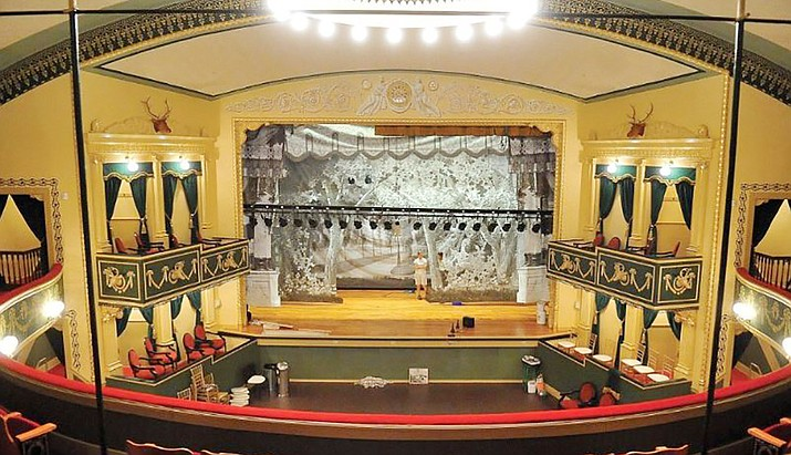 The Elks Theatre and Performing Arts Center is a 501c(3) not for profit organization. The Elks is at 117 E. Gurley St. #115, Prescott. (Courier file)
