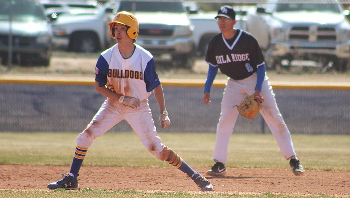 Connor Ocampo and the Bulldogs open the season at 3 p.m. Wednesday at Lee Williams. (Miner file photo)