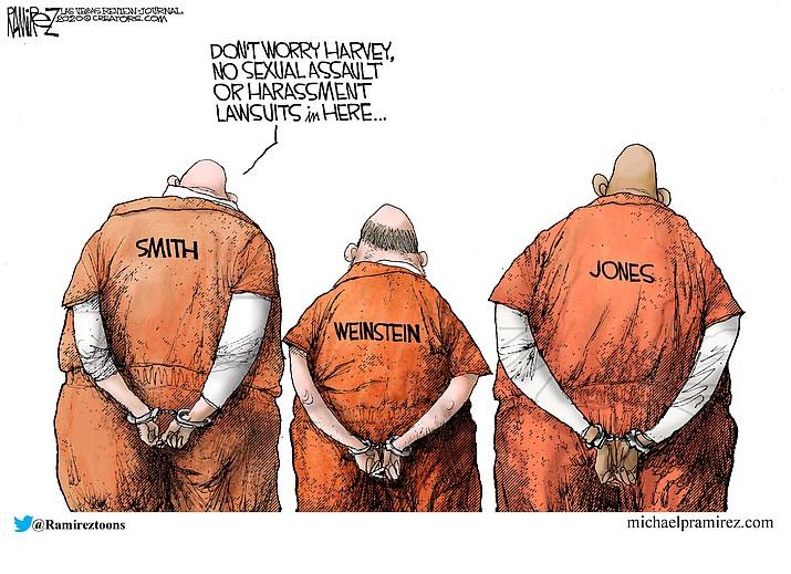 Editorial cartoon (2): Feb. 23, 2020