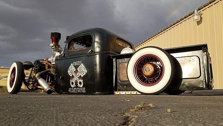 """Everyone is welcome to come enjoy a day of rat rods, hot rods and classics at the 2nd annual """"Charity Car Show"""" at Great American Pizza and Subs, 6775 Highway 68 in Golden Valley from 10 a.m. to 2 p.m. on Saturday, Feb. 29. (Eric Brown, 2nd Annual Charity Car Show, Facebook)"""
