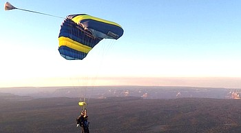 Grand Canyon skydiving operation works to increase visibilty photo
