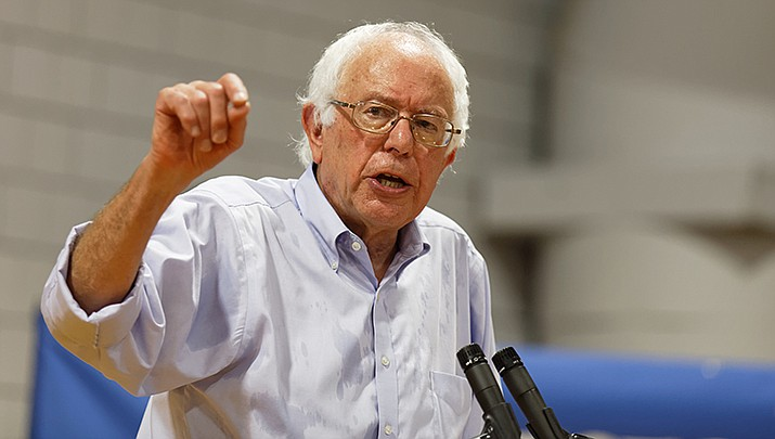 Democrats are expected to take aim at frontrunner Bernie Sanders on Tuesday night, Feb. 25, during a debate in Charleston, South Carolina. (Photo by Michael Vadon, cc-by-sa-2.0, https://bit.ly/2Sk5E2g)