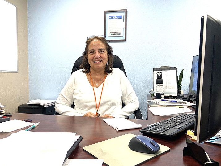 The city of Williams has selected Barbara Ashley as the new finance director. (Wendy Howell/WGCN)