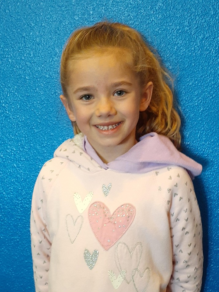Hayden, a first grader at Territorial Early Childhood Center, is the Student of the Week. (CVUSD/Courtesy)