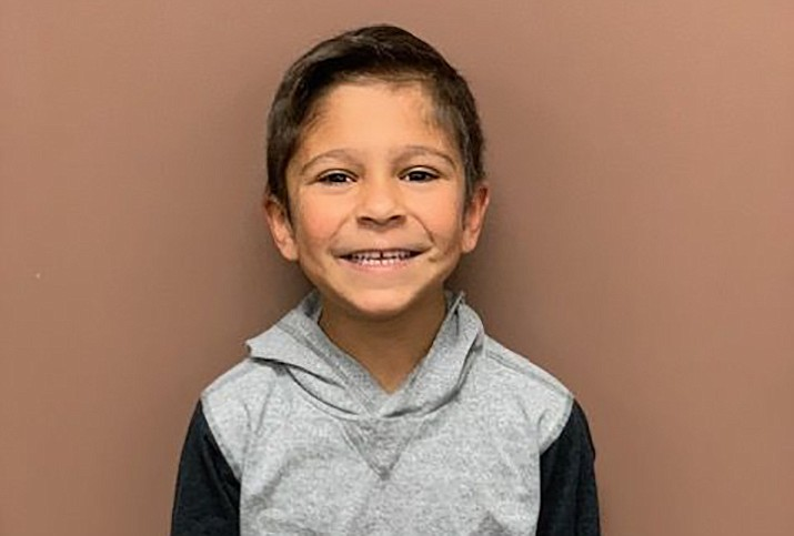 Mikah is a Humboldt Elementary student and is this week's HUSD Student of the Week. (HUSD/Courtesy)