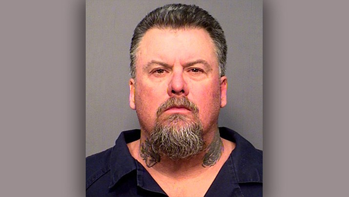 Chad Anderson of Kaibab Estates West, located north of Ash Fork was arrested Feb. 24 after he shot toward two homes. (Photo/Coconino County Sheriff's Office)