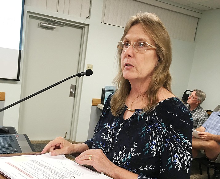 Melinda Lee, pictured, is Camp Verde's new community development director. Lee takes over for Carmen Howard, who left the Verde Valley in January to become community development director for Pueblo County, Colorado. VVN/Bill Helm