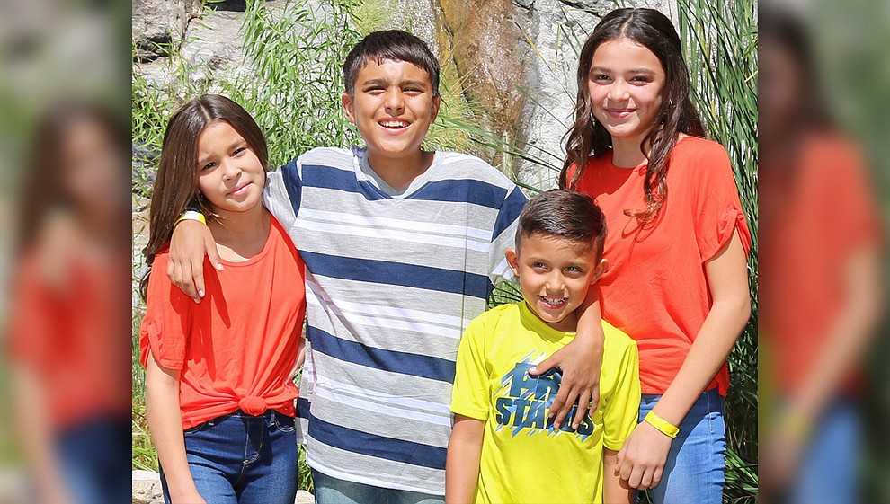 Anthony, Yesenia, Leilani and Soldado. Anthony is the shy one in the group, but he loves making his siblings laugh. Yesenia is the protector of the group and loves to draw. Leilani enjoys spending time with her siblings and friends and loves helping other people. Soldado is the energetic, silly one out of the bunch with a contagious smile and laugh. They dream of being in a forever home where they can all be together. Get to know them at https://www.childrensheartgallery.org/profile/anthony-yesenia-leilani-soldado and other adoptable children at the childrensheartgallery.org...