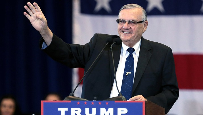 Former Maricopa County Sheriff Joe Arpaio's bid to erase a past criminal conviction has been denied by an appeals court. (File photo by Howard Fischer/For the Miner)