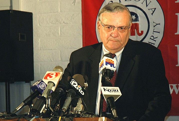 Former Maricopa County Sheriff Joe Arpaio (Captiol Media Services file photo by Howard Fischer)