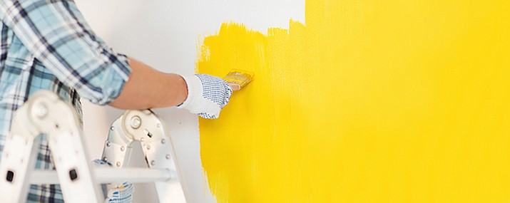 Spring is the season for house painting. (Courier stock image)