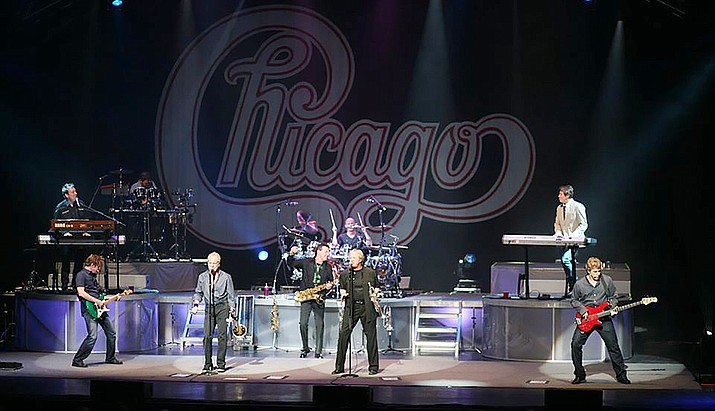 Chicago performs in 2012, and will soon be at the Findlay Toyota Center in Prescott Valley. (Courtesy)