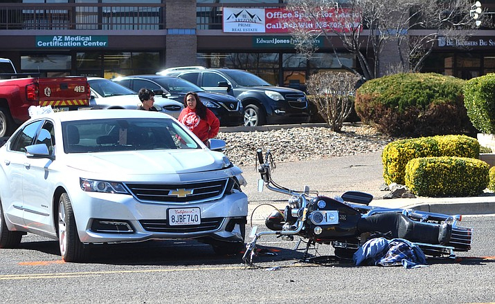 A fatal collision occurred Thursday in the 700 block of South Main Street at about 11:35 a.m. 62-year-old Cottonwood man was killed in the collision. VVN/Vyto Starinskas