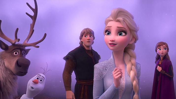 """Come out for the Monday night movie, """"Frozen 2"""" at Prescott Valley Public Library, 7401 E Skoog Blvd., 1st floor library auditorium from 5 to 7 p.m. on Monday, March 2. (Disney Movies)"""