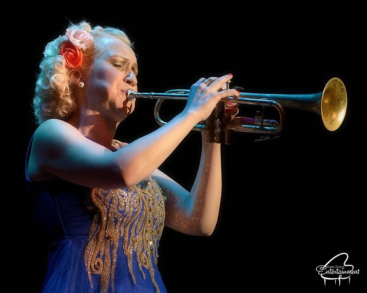 Come see Swedish jazz sensation Gunhild Carling at the Elks, Sunday, March 1