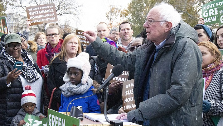 Frontrunner Bernie Sanders and the other remaining candidates for the Democratic nomination for U.S. President are turning their focus toward Super Tuesday, when 14 states will vote in Democratic primaries. (Public domain)