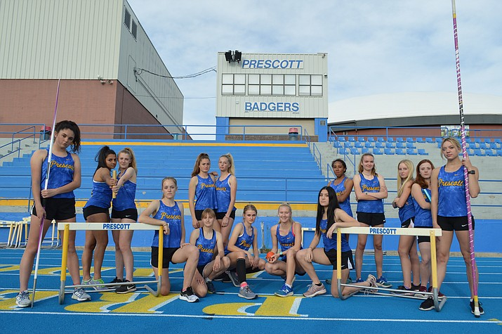 The Prescott girls track and field team finished second overall at the Division III State Championships a season ago, and with everyone back, 2020 might be the year for the Badgers. (Brian M. Bergner Jr./Courier)