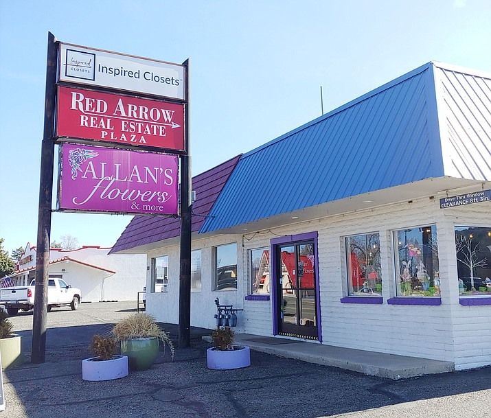 Allan's Flowers, 1095 E. Gurley St., has now completely absorbed Prescott Valley Florist, formerly of 6520 E. Second St. in Prescott Valley. Both shops will conduct their business as Allan's. (Doug Cook/Courier)