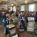 The 2020 Prescott Bridal Affaire Expo at Hassayampa Inn Sunday, March 1, 2020, drew packed crowds. (Jason Wheeler/Courier)